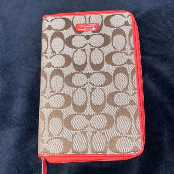 Coach Mini Ipad case!